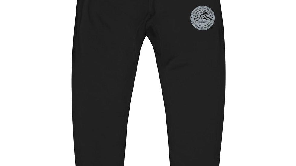 RoThug Unisex fleece sweatpants-Grey Logo