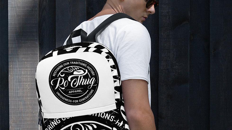 RoThug Backpack-White