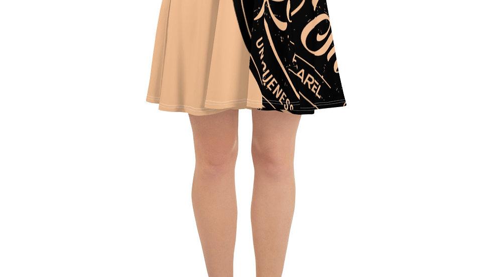 RoThug Skater Skirt-Nude