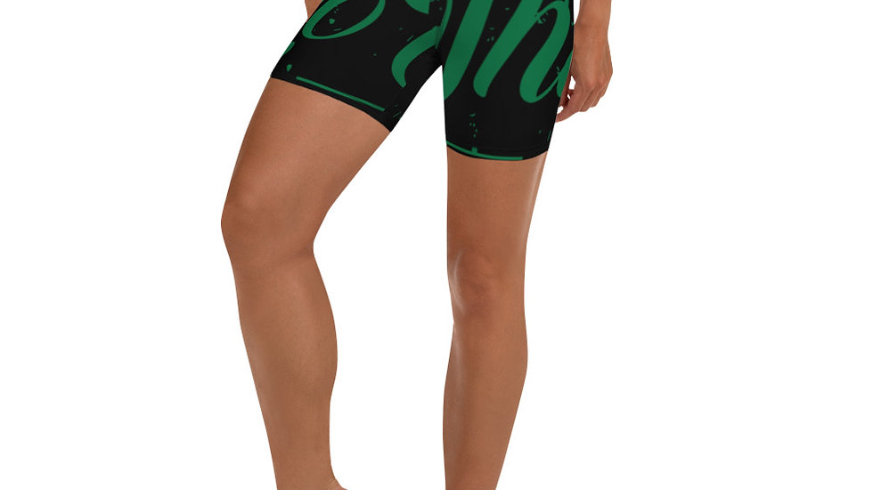 RoThug Yoga Shorts-Green