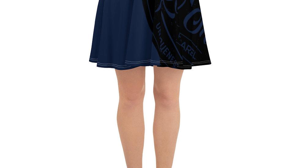 RoThug Skater Skirt-Navy Blue