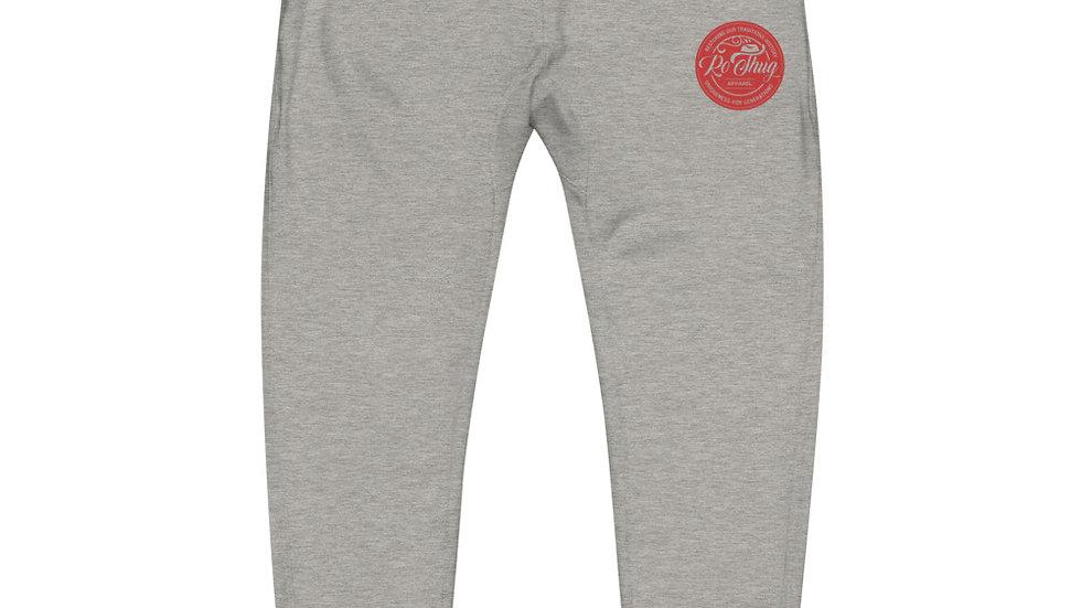 RoThug Unisex fleece sweatpants-Red Logo