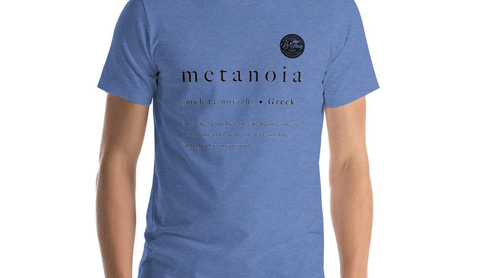 RoThug Metanoia T-Shirt Black Logo