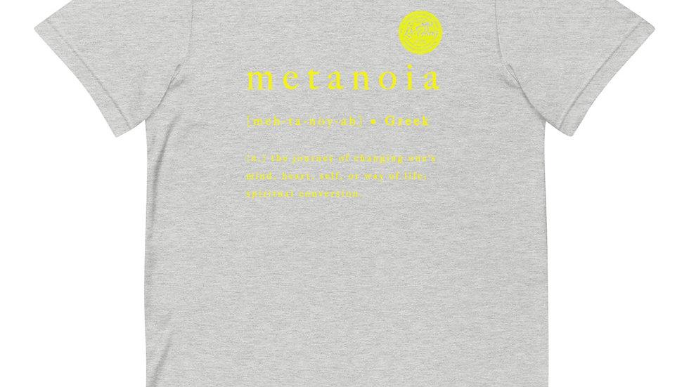 RoThug Metanoia T-Shirt Yellow Logo