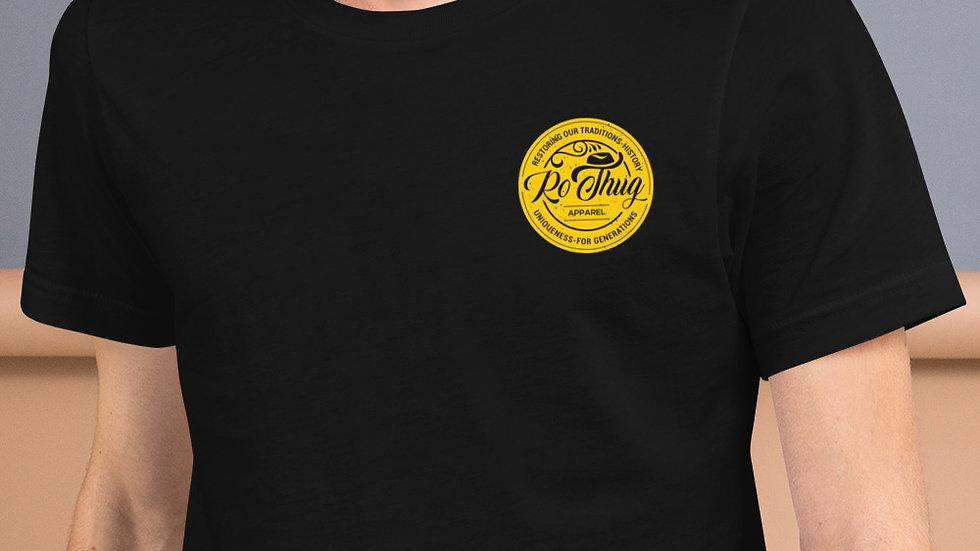 RoThug Short-Sleeve Unisex T-Shirt-Gold