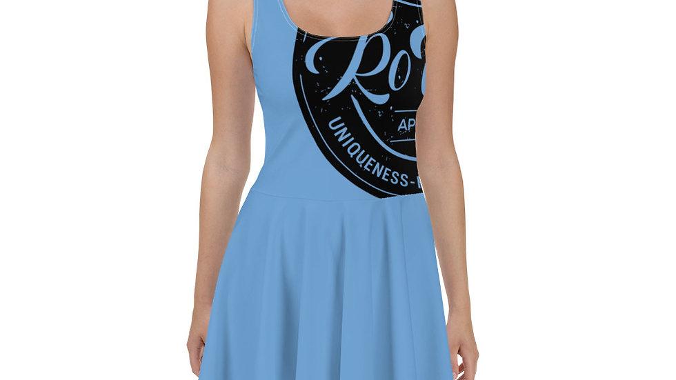 RoThug Skater Dress-Light Blue