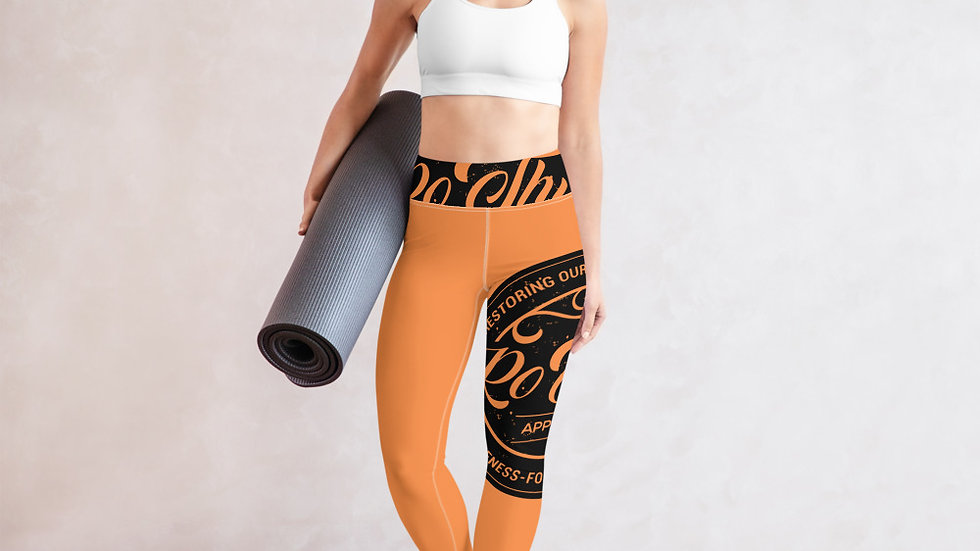 RoThug Yoga Leggings-Orange