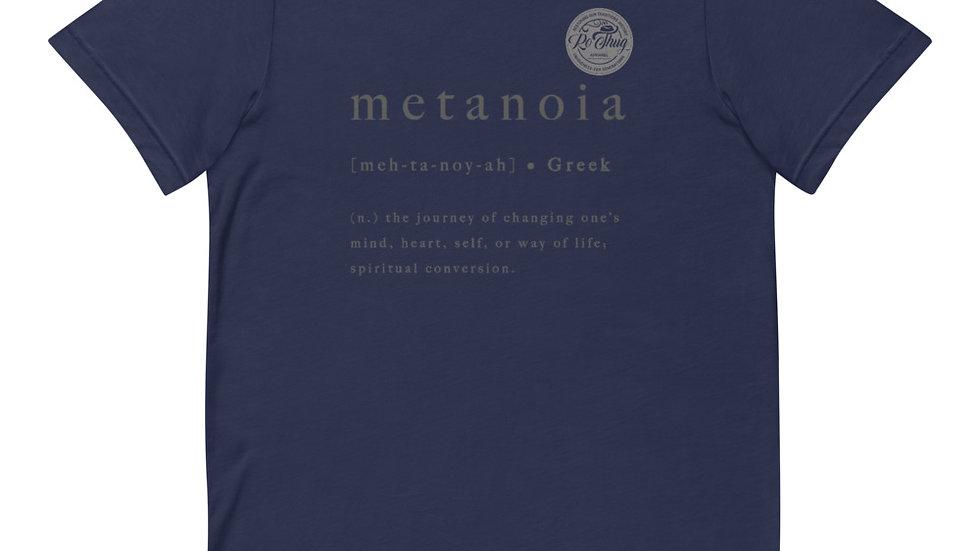 RoThug Metanoia T-Shirt Grey Logo