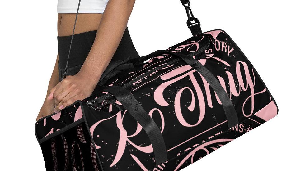 RoThug Duffle bag-Pink