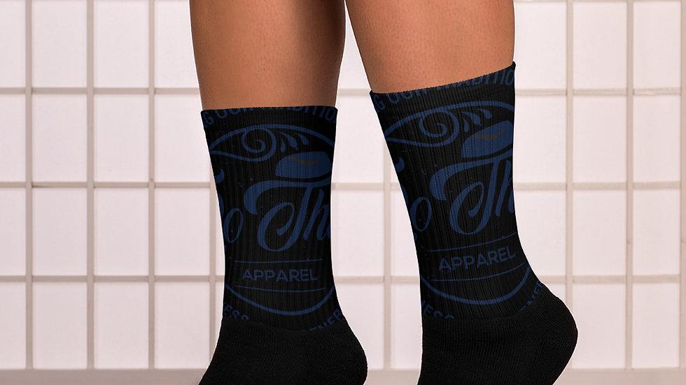 RoThug Socks-Navy Blue