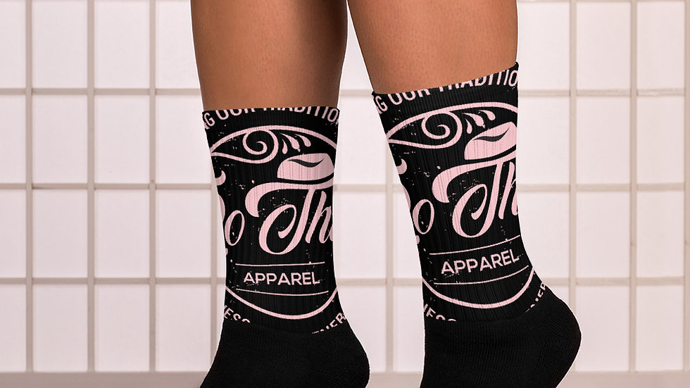 RoThug Socks-Pink