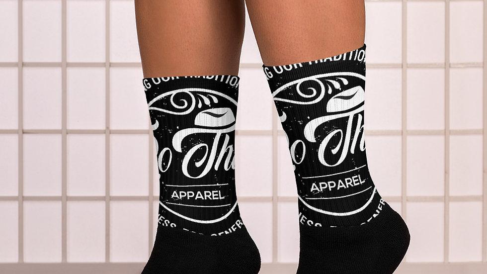 RoThug Socks-White