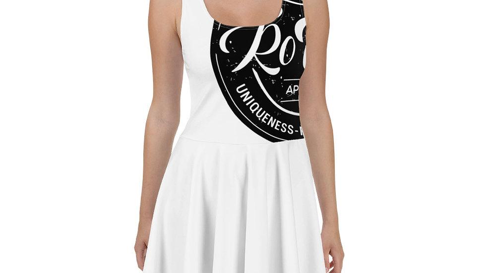 RoThug Skater Dress-White