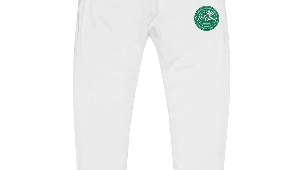 RoThug Unisex fleece sweatpants-Green Logo