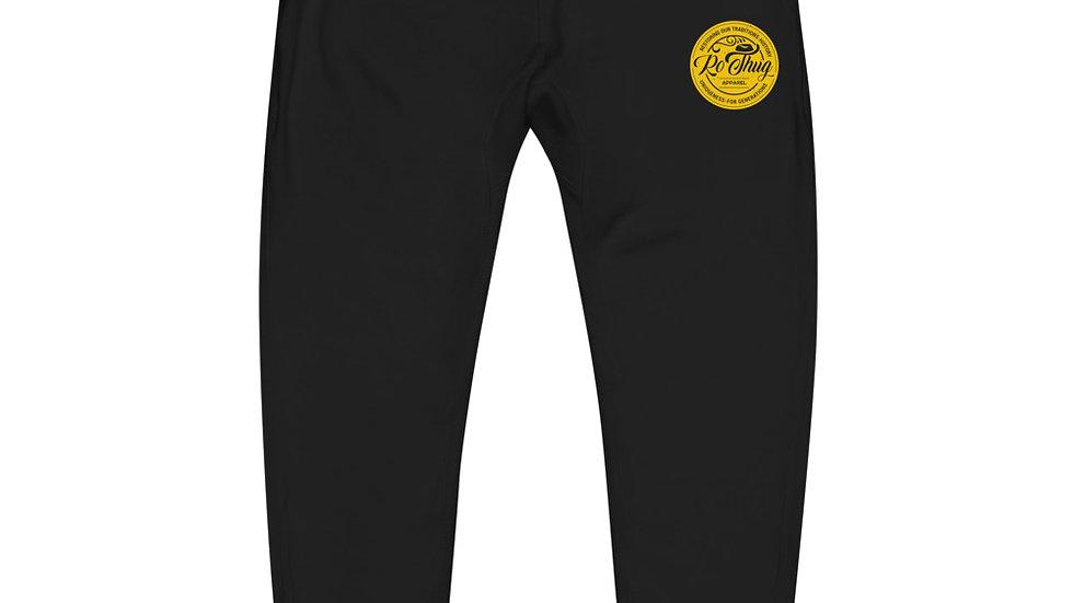 RoThug Unisex fleece sweatpants-Gold