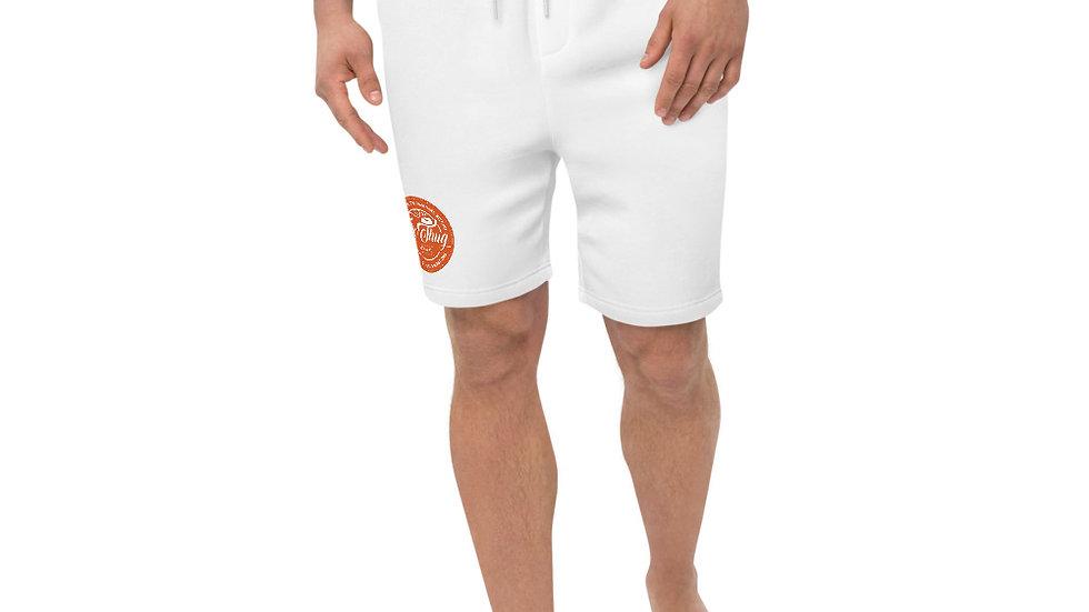 RoThug Men's fleece shorts- Orange Logo