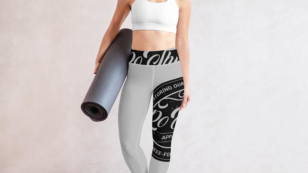 RoThug Yoga Leggings-Grey