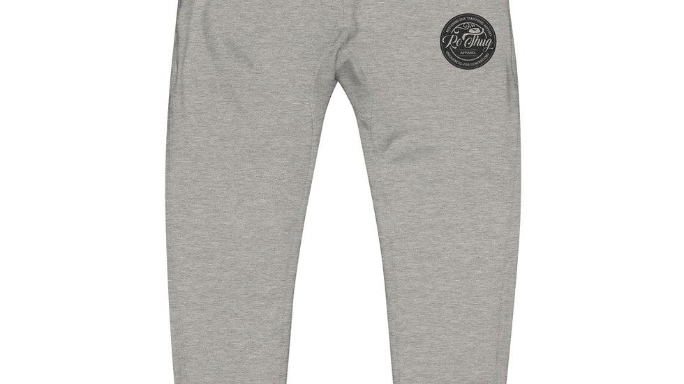 RoThug Unisex fleece sweatpants-Black Logo