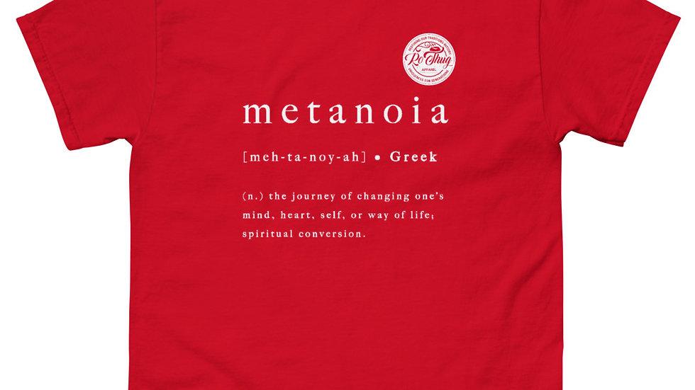 RoThug Metanoia T-Shirt White Logo
