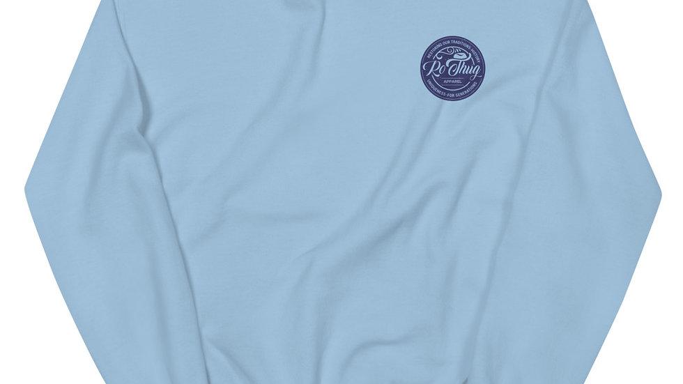 RoThug Unisex Sweatshirt-Navy Logo