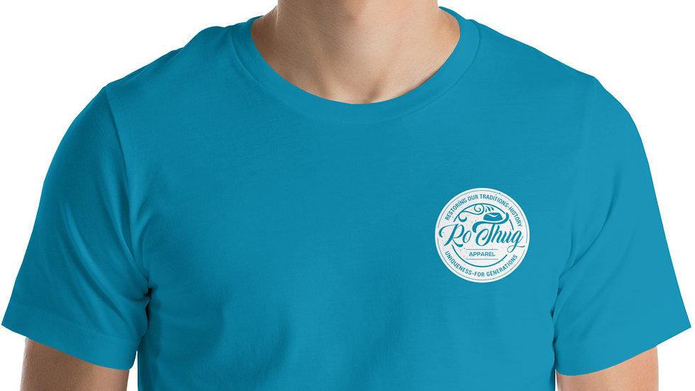RoThug Short-Sleeve Unisex T-Shirt-White Logo