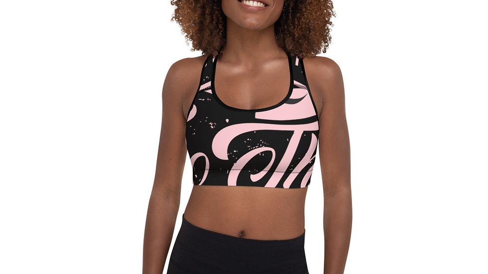 RoThug Padded Sports Bra-Pink