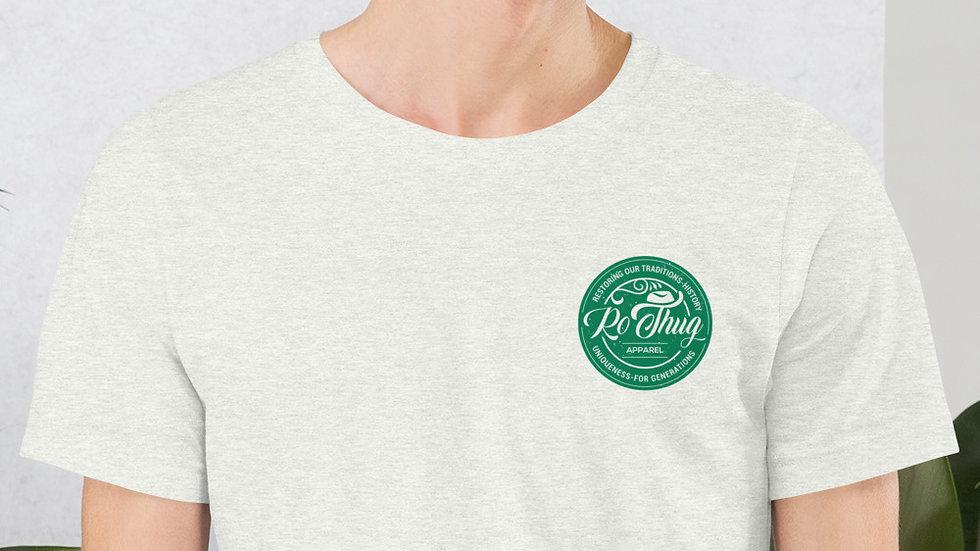 RoThug Short-Sleeve Unisex T-Shirt-Green Logo