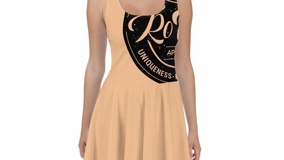 RoThug Skater Dress-Nude
