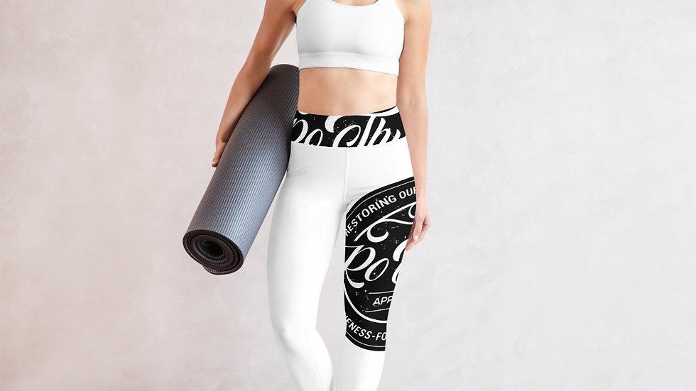 RoThug Yoga Leggings-White