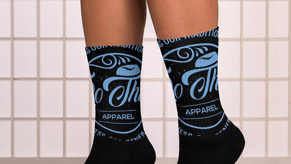 RoThug Socks-Light Blue