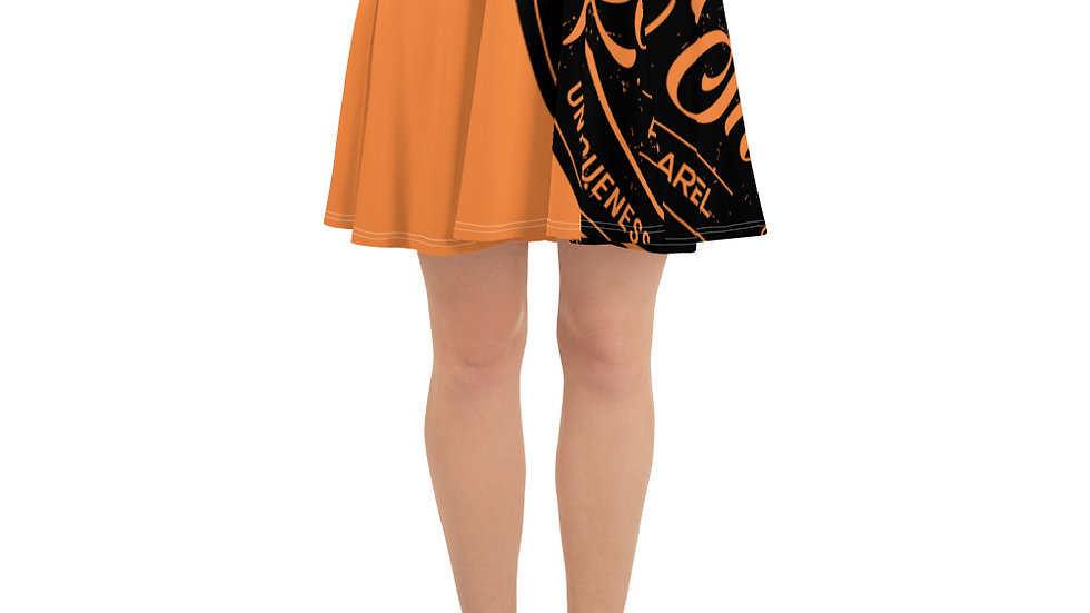 RoThug Skater Skirt-Orange