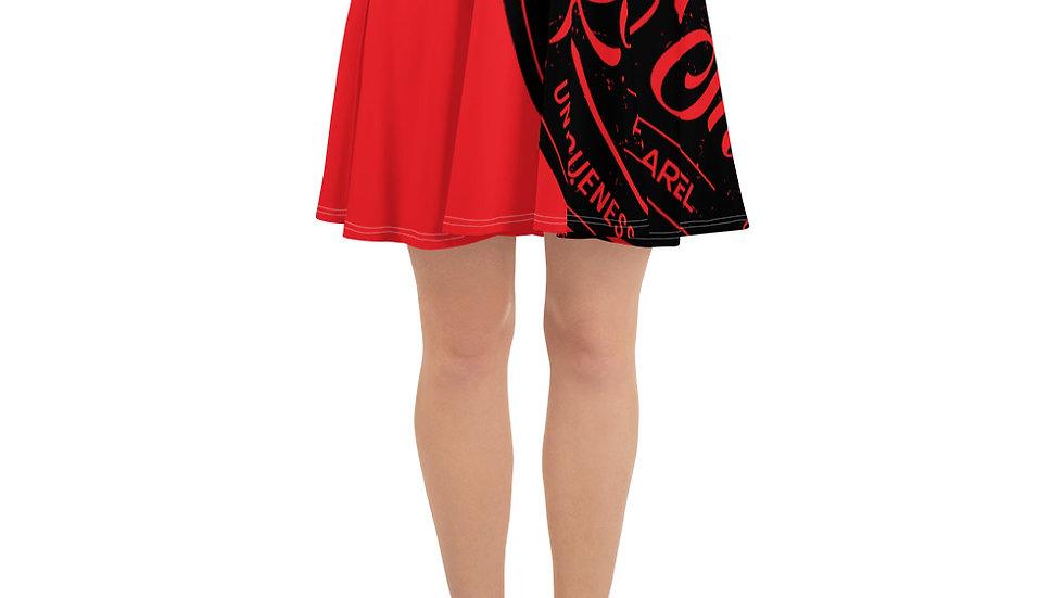 RoThug Skater Skirt-Red
