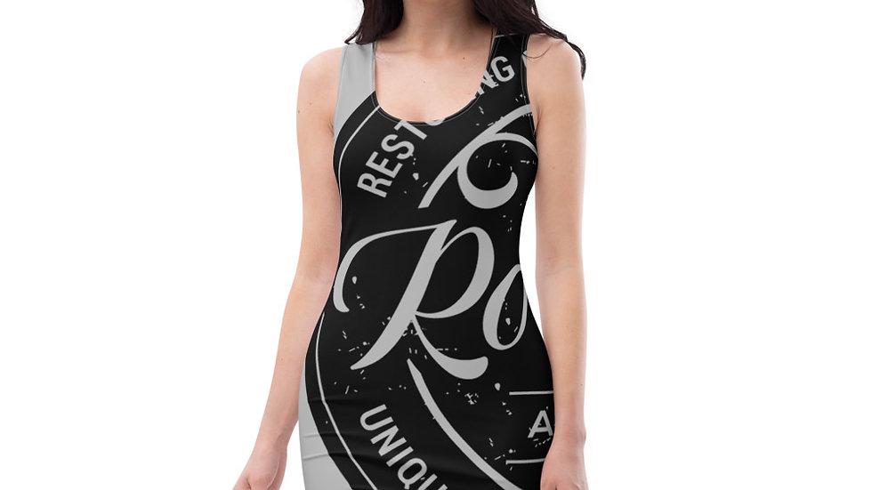 RoThug Sublimation Cut & Sew Dress-Grey