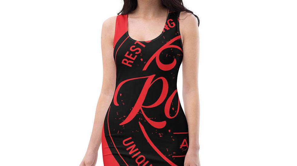 RoThug Sublimation Cut & Sew Dress-Red