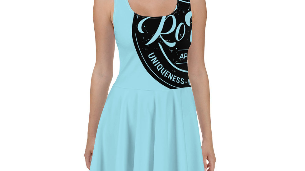 RoThug Skater Dress-Powder Blue