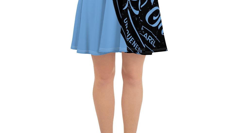 RoThug Skater Skirt-Light Blue