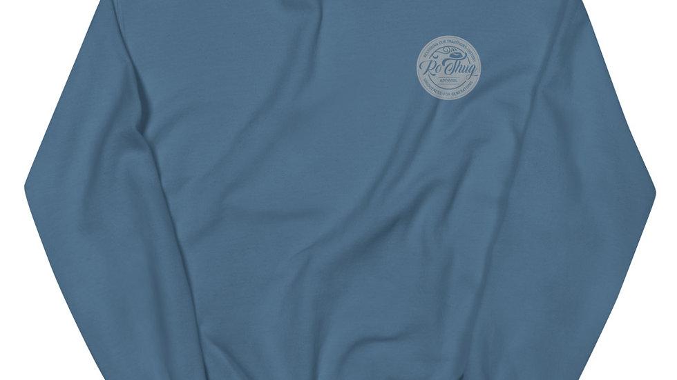 RoThug Unisex Sweatshirt-Grey Logo