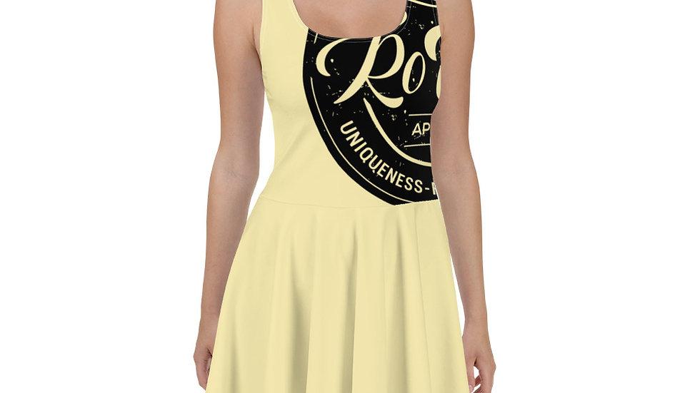 RoThug Skater Dress-Yellow