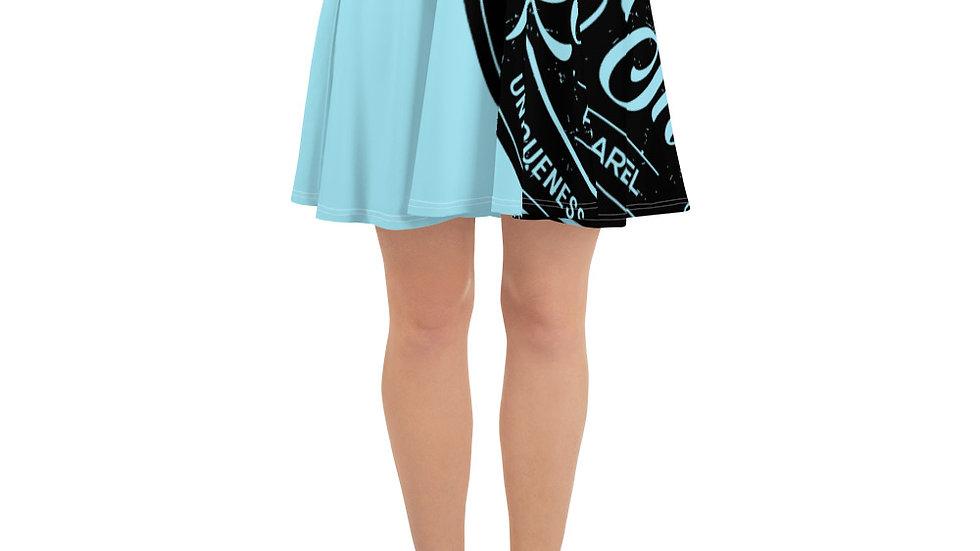 RoThug Skater Skirt-Powder Blue