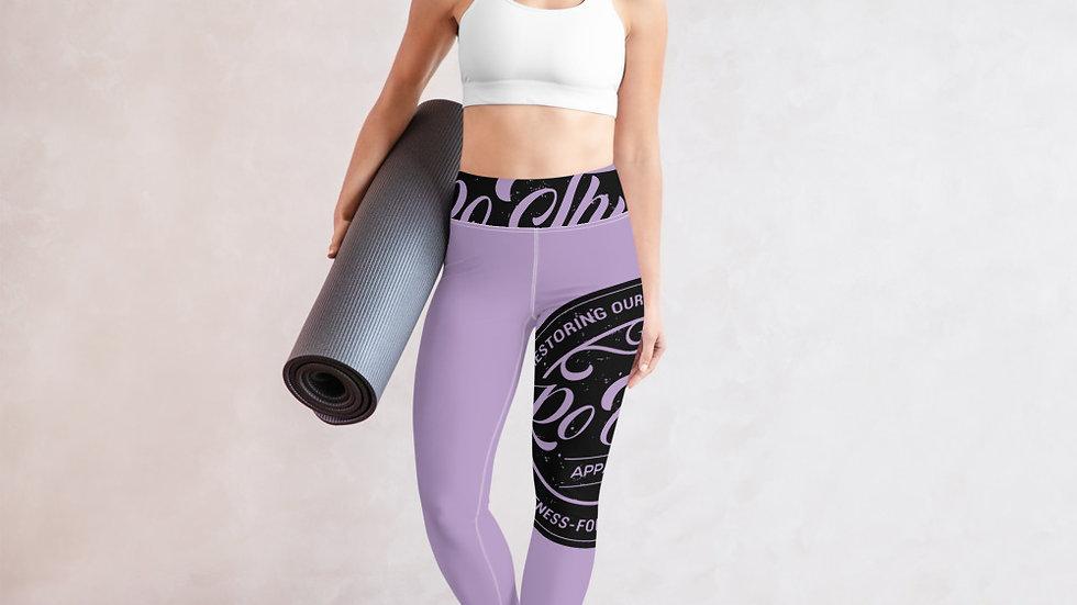 RoThug Yoga Legging-Purple