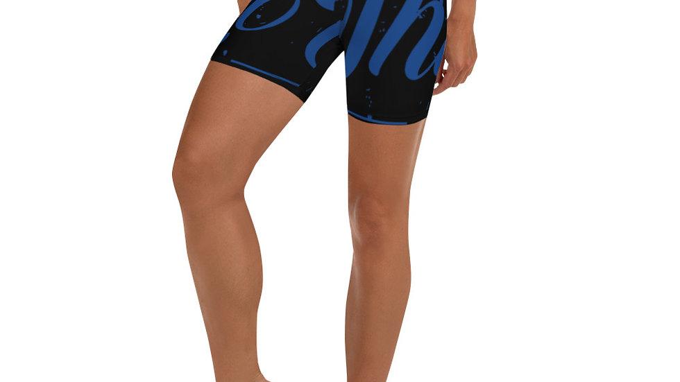 RoThug Yoga Shorts-Royal Blue