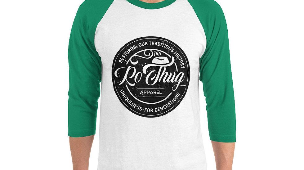 RoThug 3/4 sleeve raglan shirt