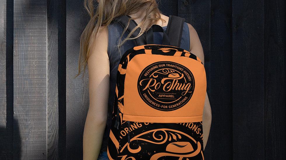 RoThug Backpack-Orange