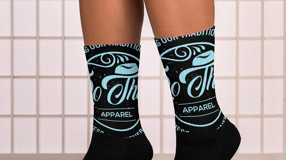 RoThug Socks-Powder Blue