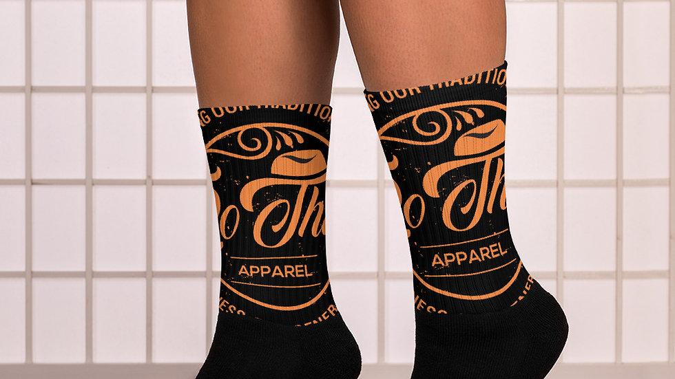 RoThug Socks-Orange