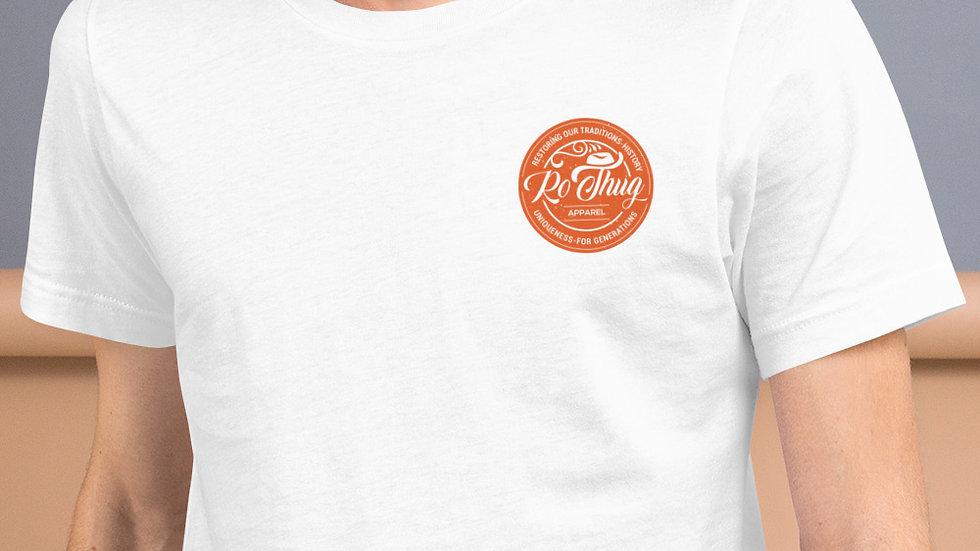 RoThug Short-Sleeve Unisex T-Shirt-Orange Logo