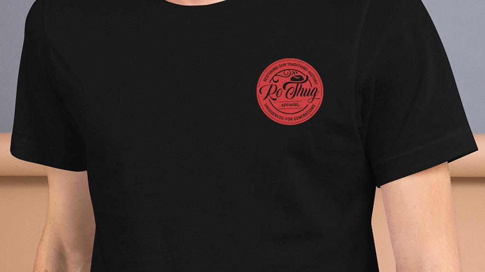 RoThug Short-Sleeve Unisex T-Shirt-Red Logo