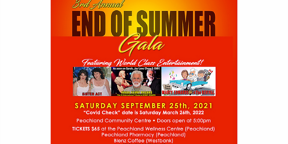 End of Summer Gala 2021