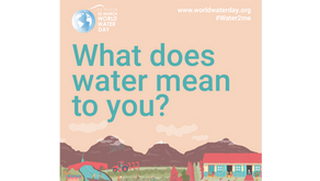 World Water Day is March 22nd