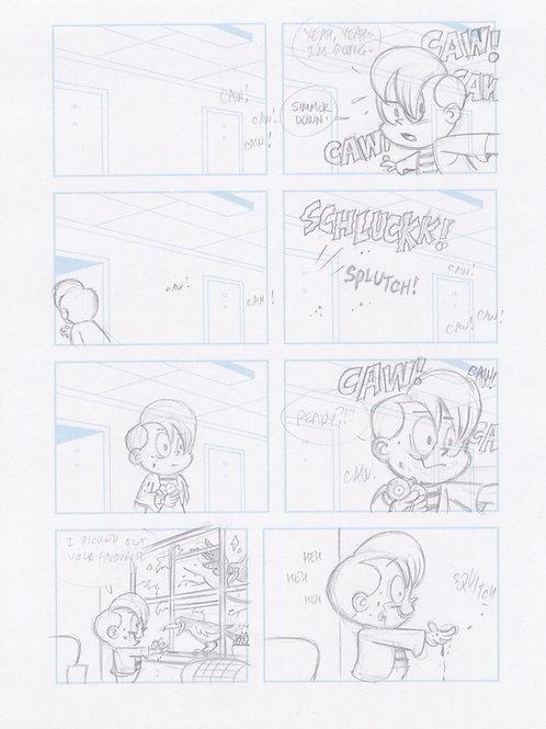 Dwellings No 1. Pencils Page 22